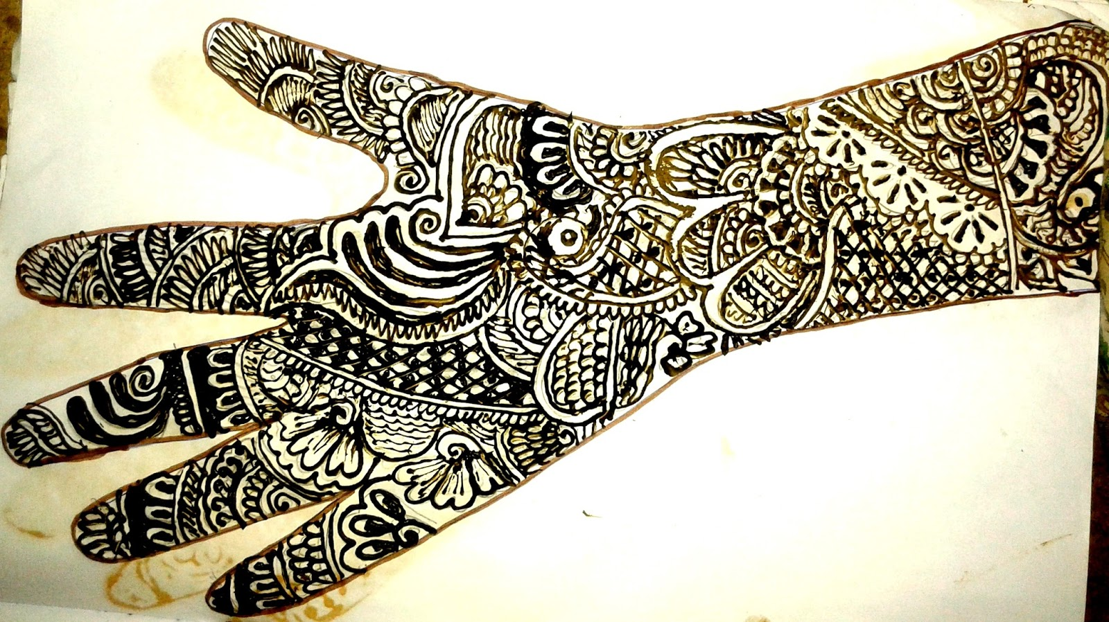 simple full hand mehndi designs for beginners home