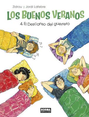 """Comic: Review de """"Los buenos Veranos: El descanso del Guerrero"""" Vol.4 de Zidrou y Jordi Lafebre - Norma Editorial"""