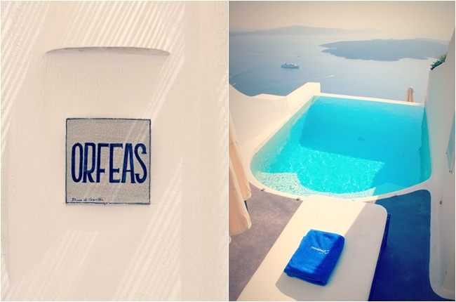 Dreams Luxury Suites Santorini Orfeas suite