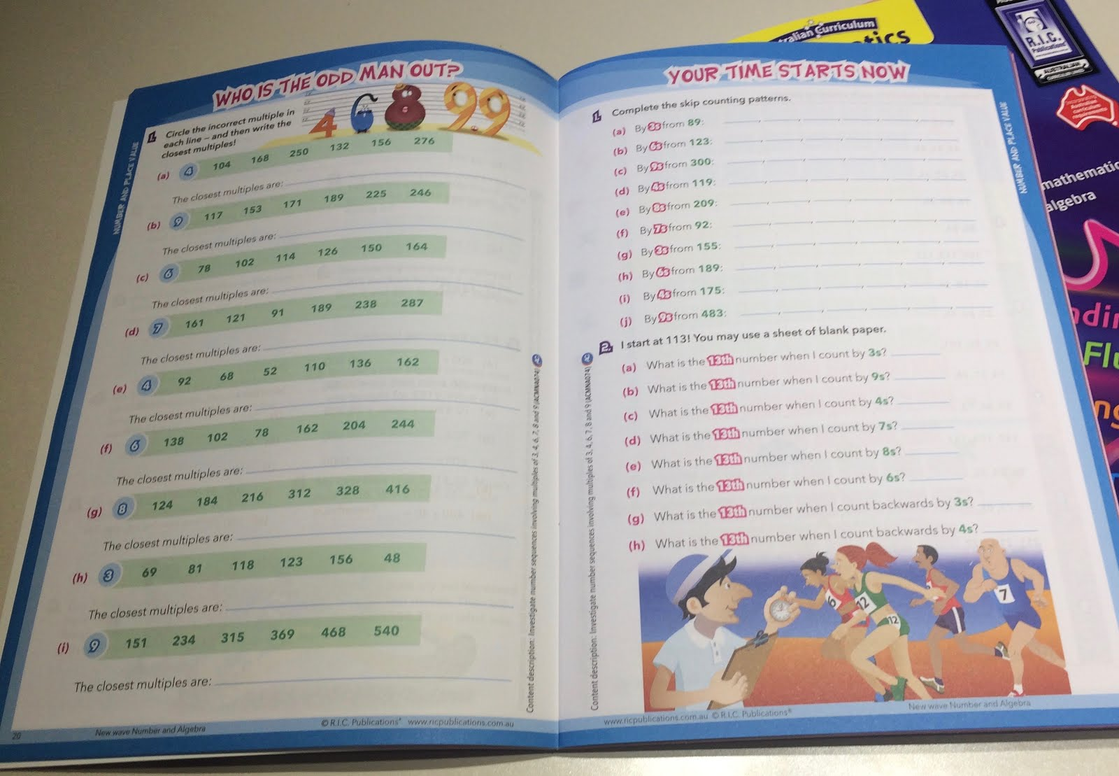 Stars And Wishes R I C Mathematics Resources Review