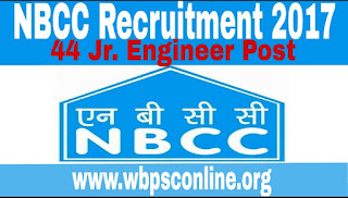 NBCC Ltd Recruitment 2017 - Apply Online For 44 Jr. Engineer (Civil & Electrical) Posts - image NBCC on http://wbpsconline.org