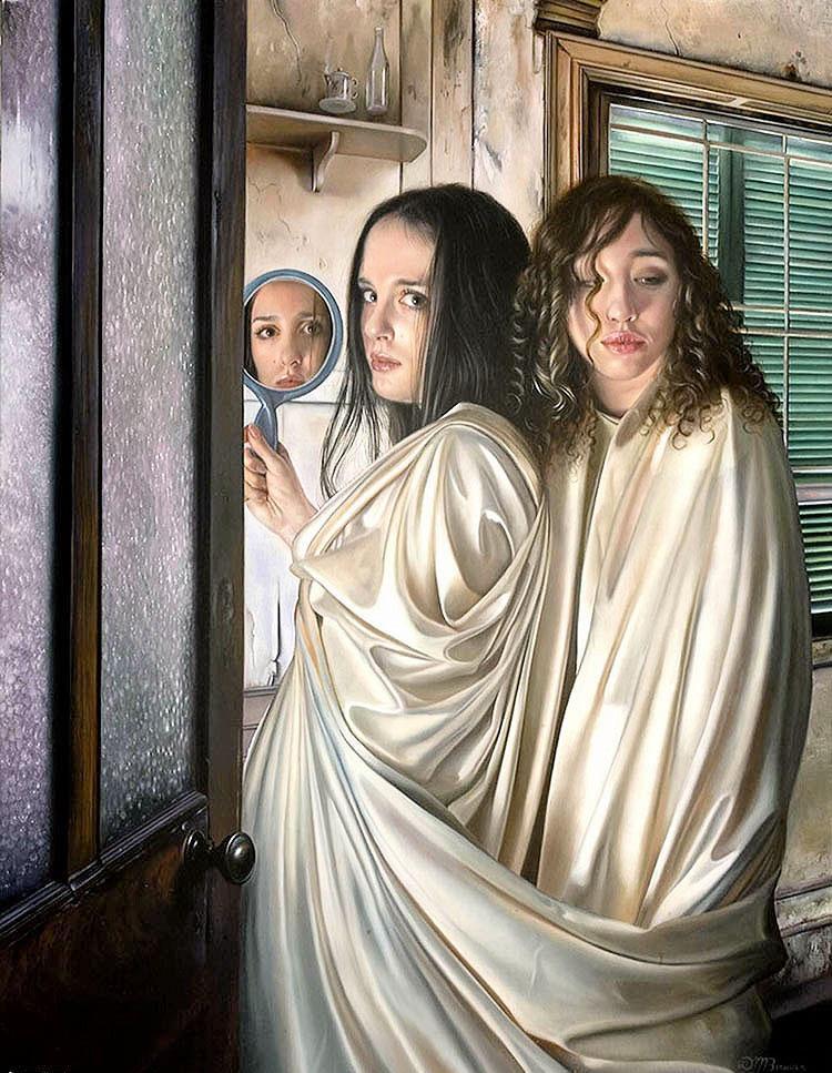 The poet of painting catherine la rose donna allo specchio nell 39 arte part 3 - Lo specchio nell arte ...