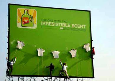 Publicidad creativa y con sentido del humor