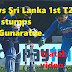 India vs Sri Lanka 1st T20: Dhoni stumps Asela Gunaratne.