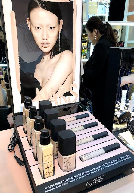 Natural Radiant Prom Makeup Tutorial: Makeup Secret: NARS「Natural Radiant Longwear Foundation 自然