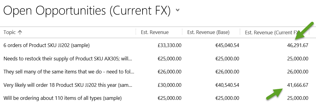Real Time Exchange Rates using a Calculated Field in Dynamics CRM Joe Gill Dynamics 365 Consultant