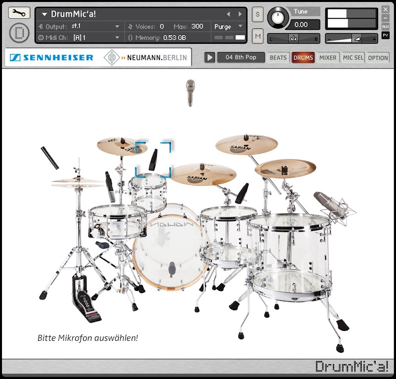 FREE Battery Library DrumMic' a!
