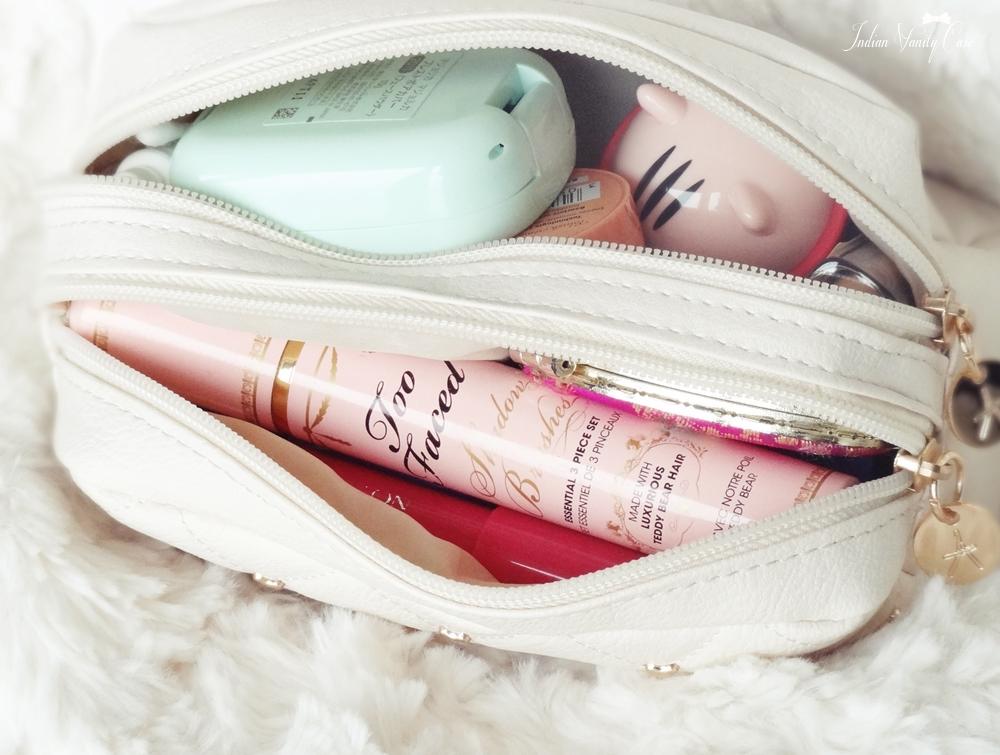 Indian Vanity Case What S In My Makeup Bag Sequel