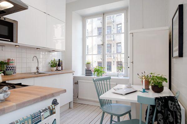 Deco Ideas Small Nordic Kitchen Dinha