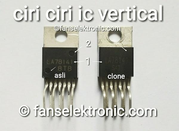 Cara Mengetahui Ciri IC Vertikal Asli Atau Palsu