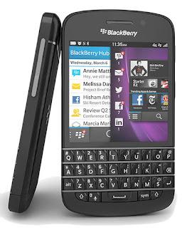 BlackBerry Q10 - Black Specs and Price