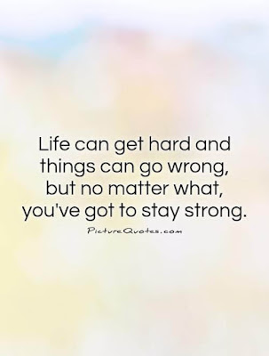 quotes about life being hard but getting through it