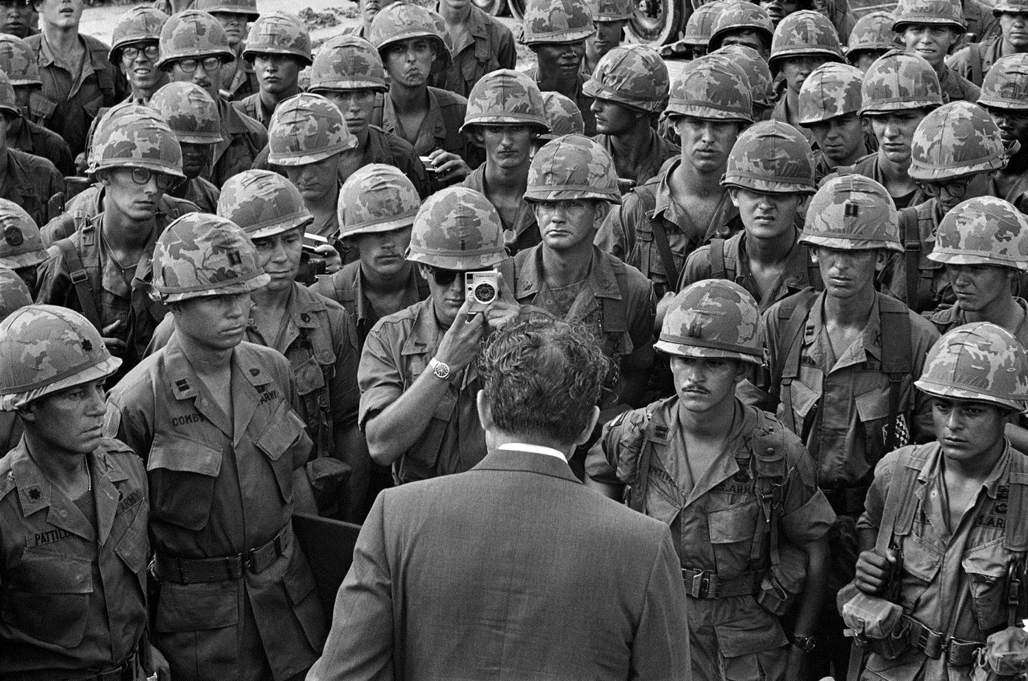 was president richard nixons vietnamization policy a Severe communist losses during the tet offensive allowed us president richard m nixon to begin troop withdrawals his plan, called the nixon doctrine, was to build up the arvn, so that they could take over the defense of south vietnam.