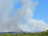 požari vatra slike otok Brač Online
