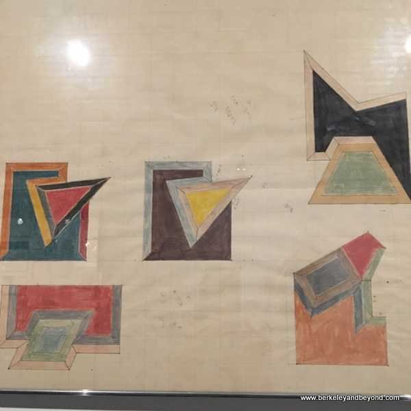 sketches by Frank Stella, at NSU Art Museum in Fort Lauderdale, Florida