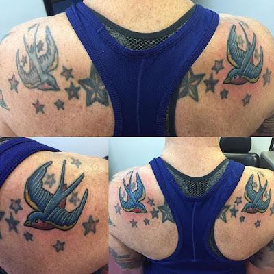 Shooting Star Tattoo for men