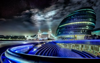 Wallpaper: Tower Bridge and City Hall