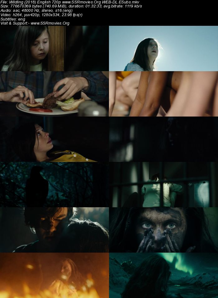 Wildling (2018) English 720p WEB-DL 700MB