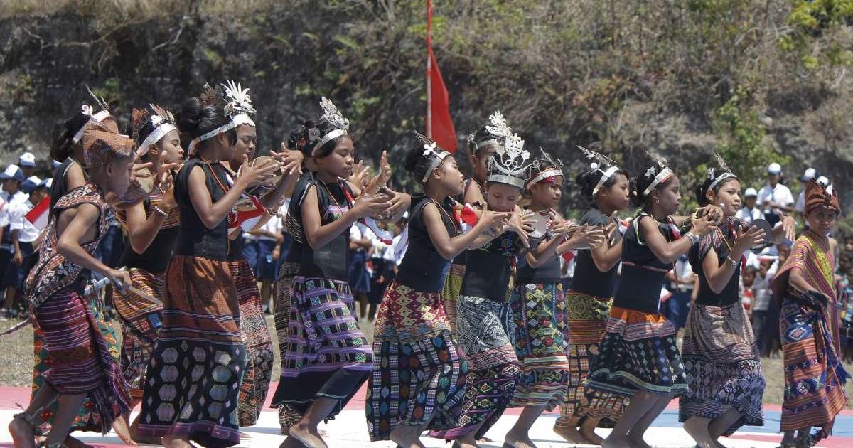 kebudayaan kabupaten belu kepulauan ntt