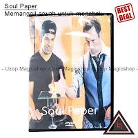 Jual alat sulap Soul paper By Rick Lax