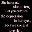 Depression Hurts (Depressing Quotes) 0082