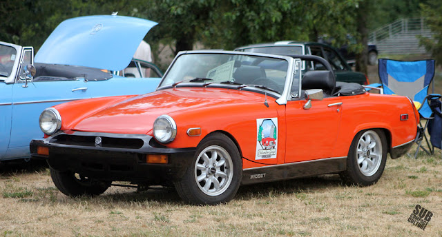 Orange MG Midget