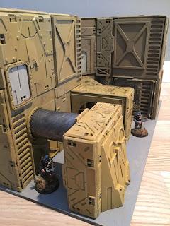 Northern Wargaming: Building Sci Fi Terrain in 28mm