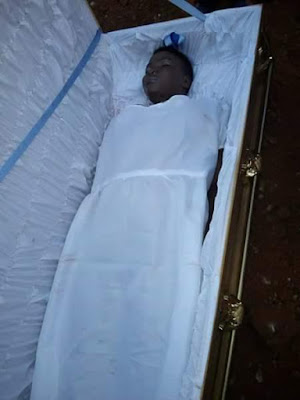 FUNERAL PHOTOS: Postgraduate student stabbed to death by her fiancee in Minna