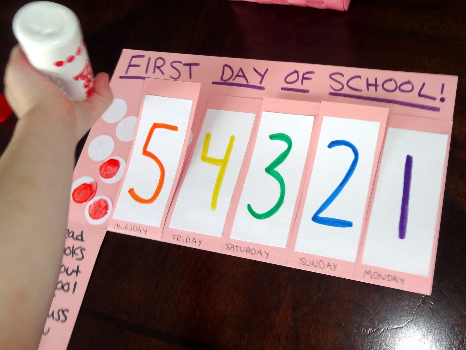 Mom S Tot School First Day Of Preschool