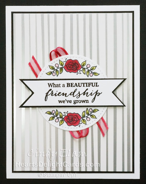 Heart's Delight Cards, Lots of Lavender, Sale-A-Bration 2018, Stampin' Up!, Friendship,