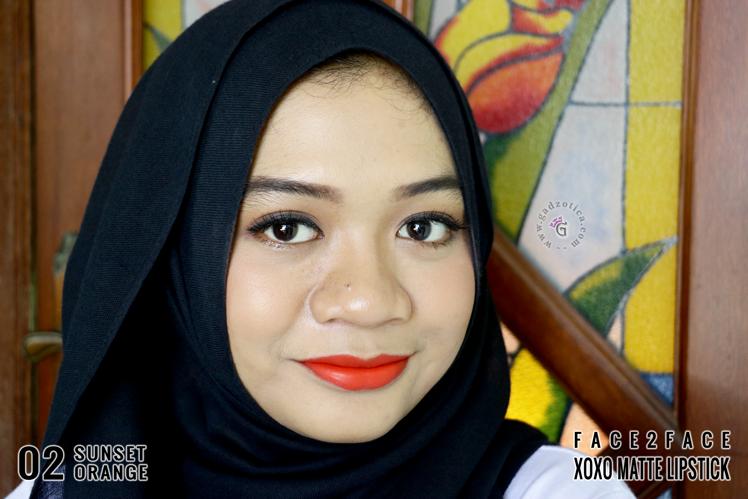 Face2Face XOXO Matte Lipstick