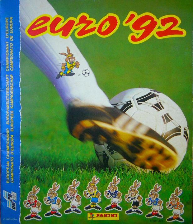 # 19 Lars Eriksson-Sverige Panini-Euro 92