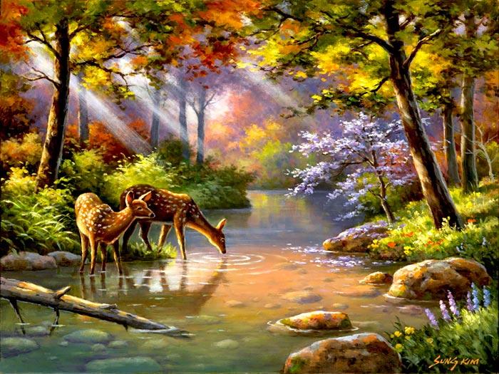 لوحات فنية رائعة للطبيعة الساحرة 2019 Beautiful Nature