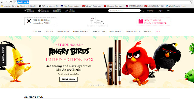 Althea Philippines - Etude House Angry Birds Limited Edition pinknomenal.blogspot.com