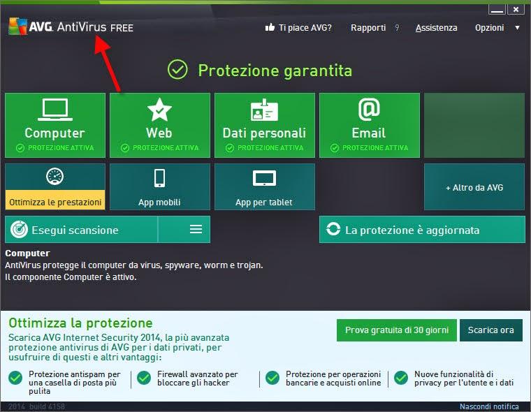 Scarica antivirus gratis salvatore aranzulla