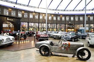 El museo de coches clásicos de Düsseldorf