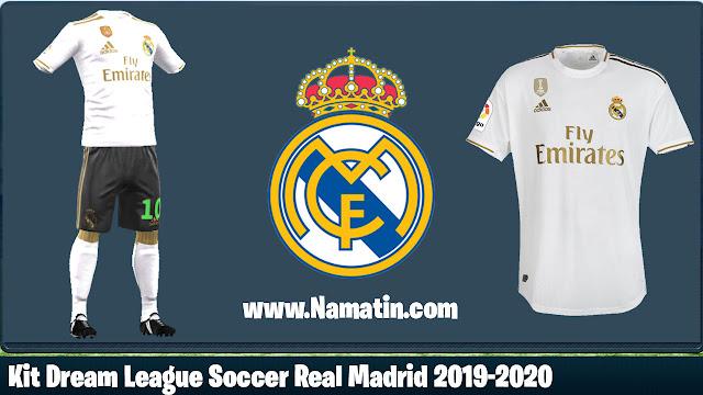 Kit Dream League Soccer Real Madrid 2019-2020