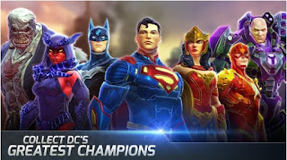 DC Legends v1.8.1 Apk Mod (God Mode/Massive Damage)