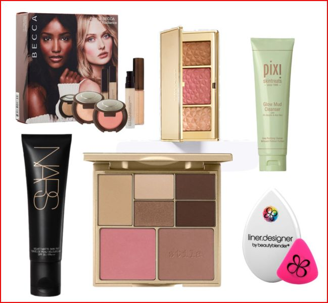 wishlist 3 danielles beauty blog pixi nars becca beauty blender stila estee lauder