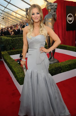 Kaley Cuoco Screen Actors Guild Awards 2014