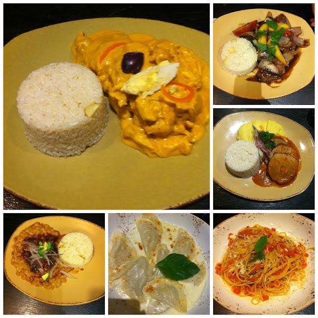 O que comer no Peru - Lomo Saltado e Ají de Gallina