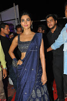 Pooja Hegde choli saree at DJ Duvvada Jaggannadham music launch ~  Exclusive 140.jpg