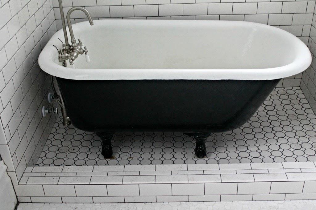 Refinished Vintage Bath Tub