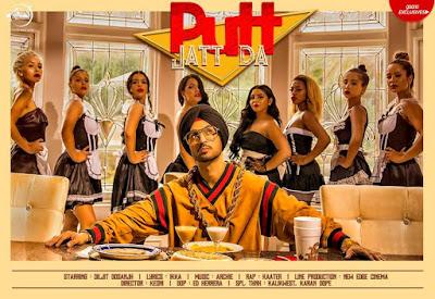 PUTT JATT DA Lyrics - Diljit Doshanj