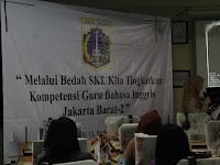 Laporan Agenda Bedah SKL MGMP Bahasa Inggris SMK Jakarta Barat 2 Tanggal 10 February 2016