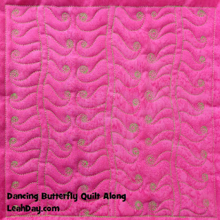 machine quilting design | free motion quilting