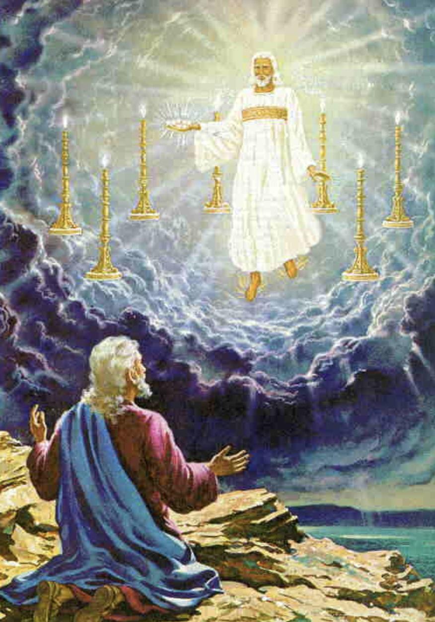 Resultado de imagen de visión juan APOCALIPSISsiete candelabros
