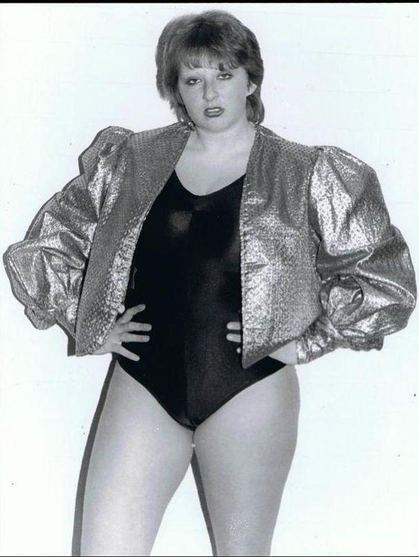 Wrestler Busty Keegan 87