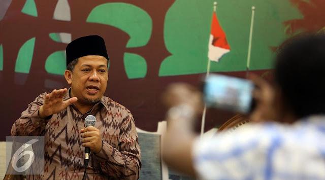 Fahri Hamzah Minta Jokowi Hentikan Sementara KPK