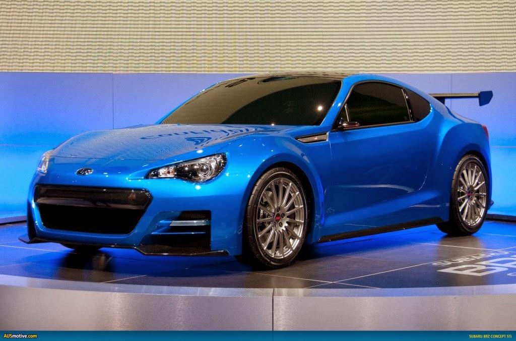 Subaru BRZ STI 2014 Cars